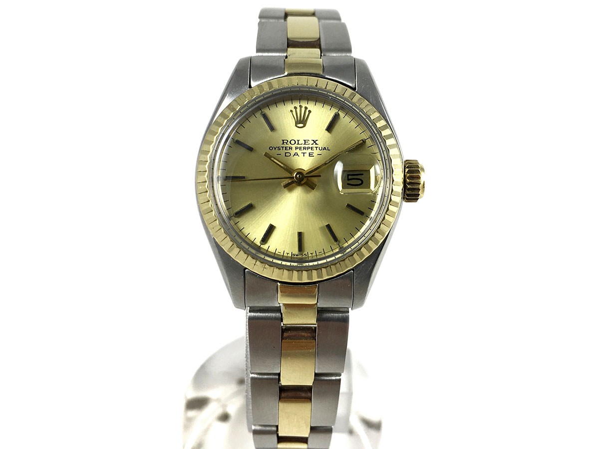 3e3be8a9ac8 RELOJ Rolex Oyster Perpetual Date Lady 6917 - compramos rolex oyster ...