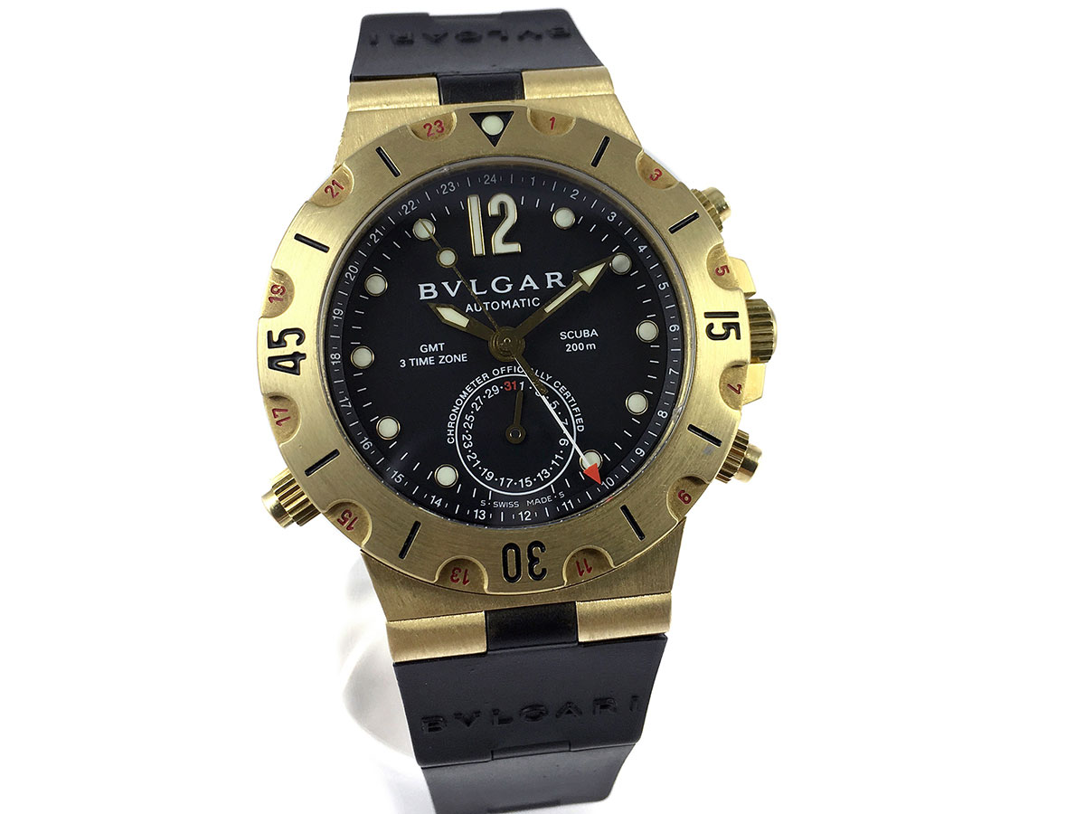 d105c7f3843 RELOJ Bulgari Diagono Scuba GMT 3 Time Zone - Icone Watches - Compra ...