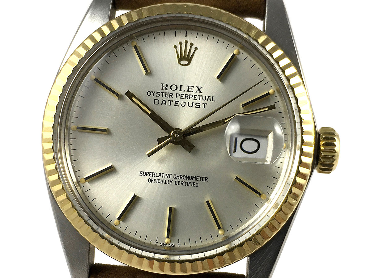 0c6114bbb5f RELOJ Rolex Datejust 16013 Yellow Gold & Steel - Icone Watches ...
