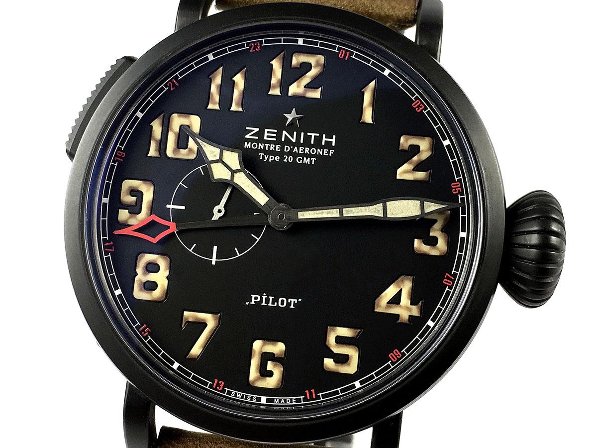 Reloj Zenith Pilot Type 20 Gmt 1903 Icone Watches