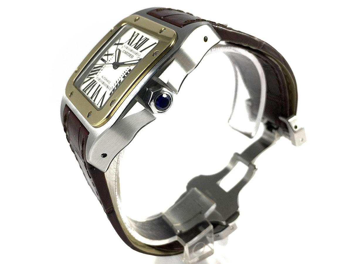 Reloj Cartier Santos 100 Xl Ref 2656 Icone Watches