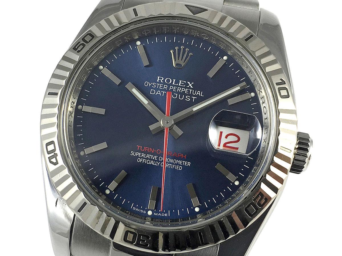c82c1600f79 RELOJ Rolex Datejust Turn-O-Graph Blue 116264 - Icone Watches ...