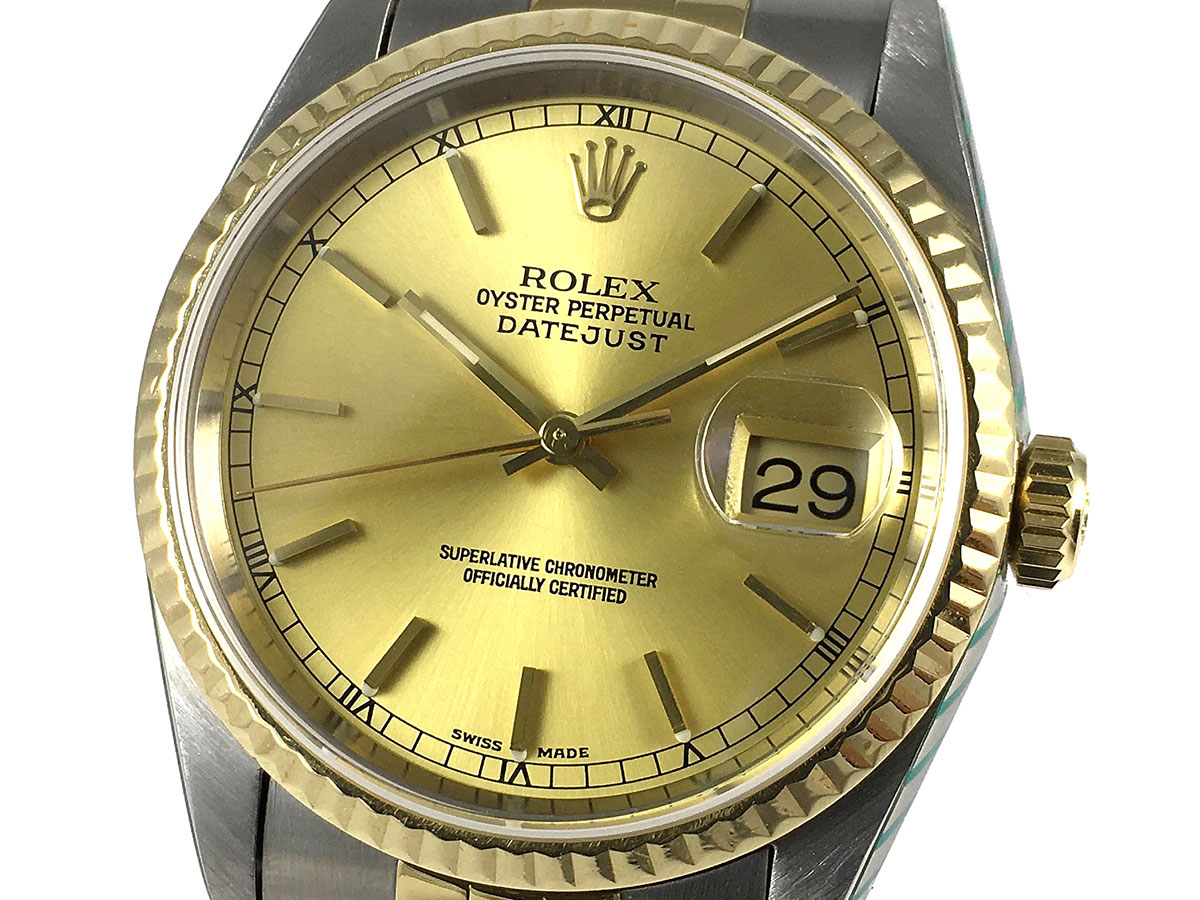 Compra Oyster Perpetual Reloj Rolex 16233 Watches Datejust Icone w80PXOnk