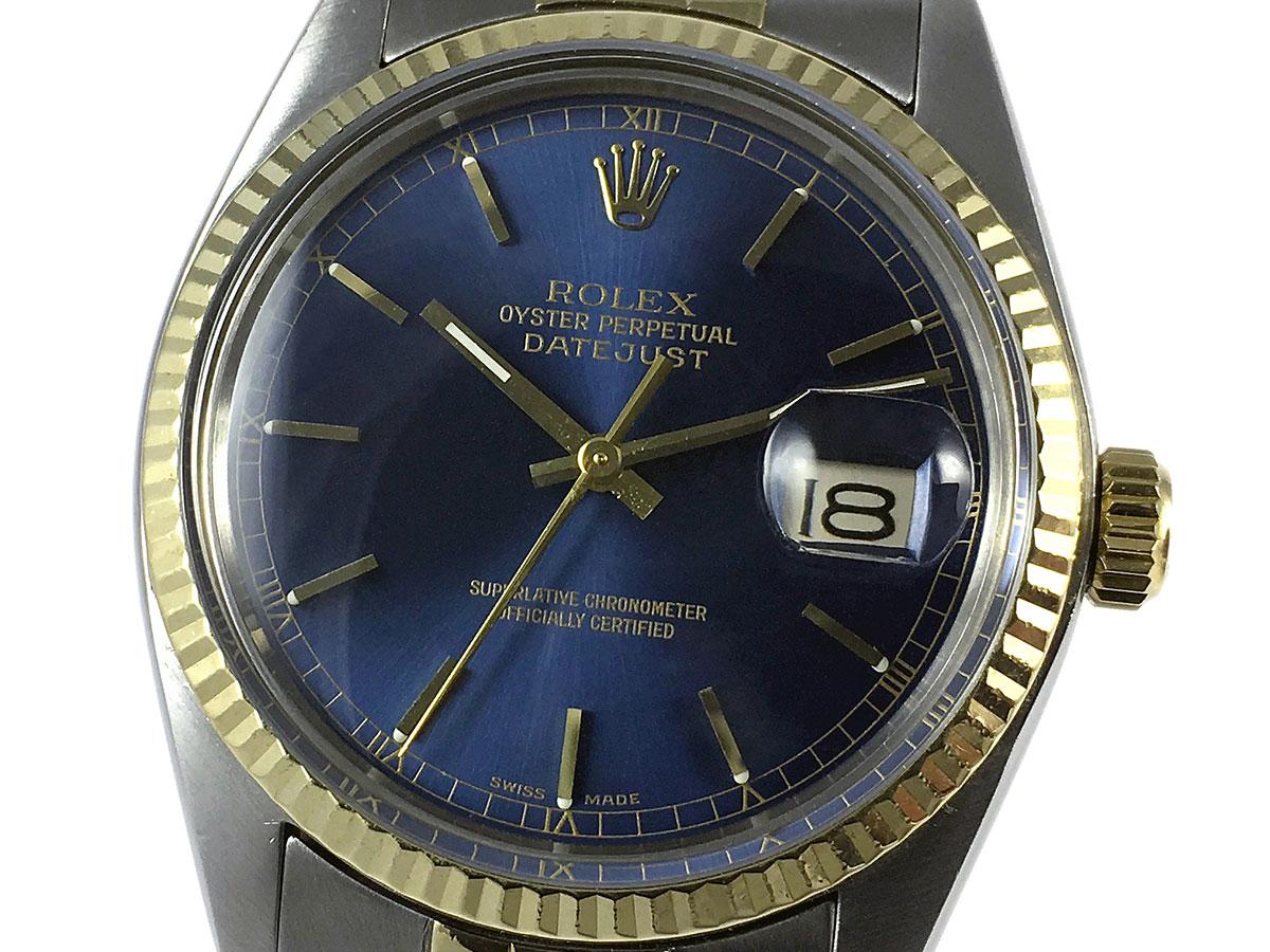 a9c648215ac RELOJ Rolex Datejust 16013 Blue Dial - Icone Watches - Compra venta ...